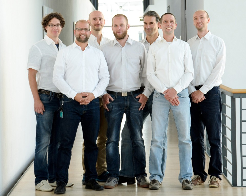 Kernteam des TestLab Solar Thermal Systems am Fraunhofer ISE